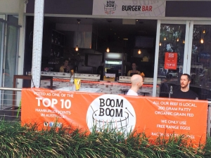 VOTED AS ONE OF THE TOP 10 BURGERS BARS AUSTRALIA WIDE