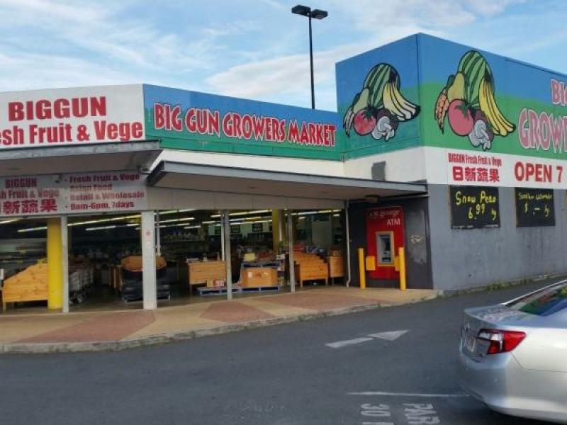 Big Gun Shopping Centre at Underwood Qld with Development Potential