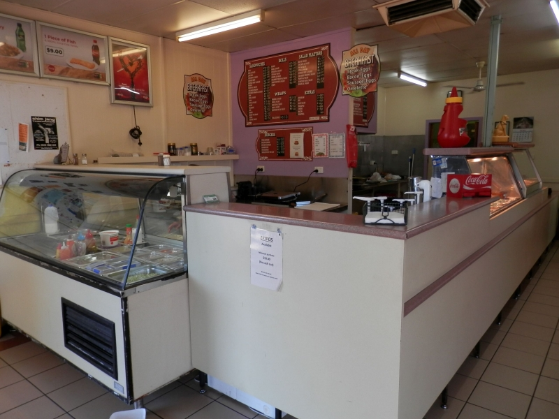 Sugar Loaf Fast Foods - Ayr - Centrally Located Cafe