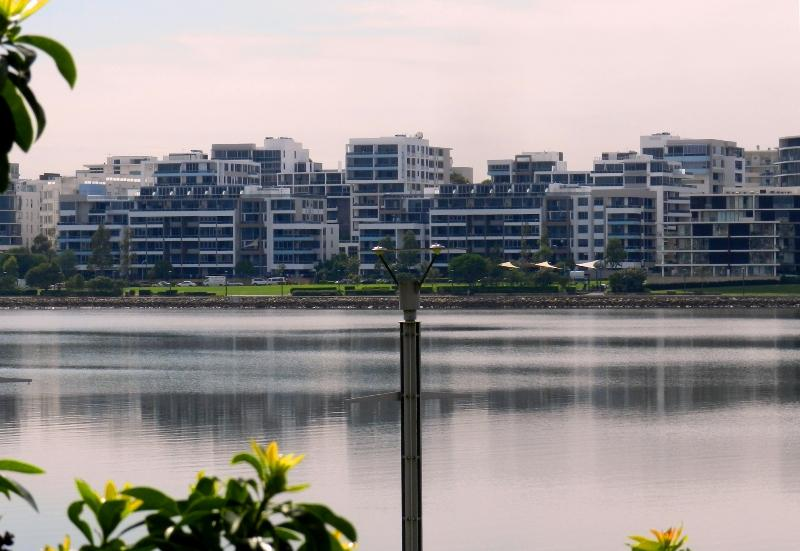 STUNNING SUNNY NORTH FACING WATERFRONT UNIT WITH WATER VIEWS AND HUGE BALCONY!