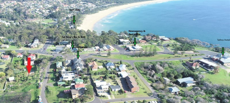 EXTRA LARGE VACANT LAND IN THE HEART OF TATHRA WITH OCEAN & COASTLINE VIEWS.....NEVER TO BE BUILT OUT!!!