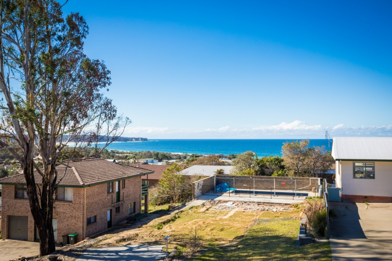 VERY RARE VACANT LAND IN TATHRA WITH OUTSTANDING OCEAN VIEWS...