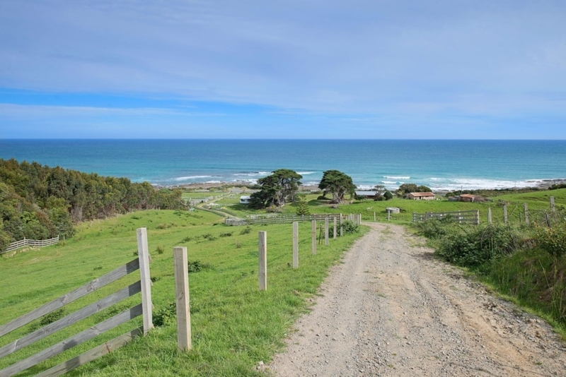PRIME ACREAGE WITH GREAT OCEAN ROAD FRONTAGE GREAT OCEAN VIEWS AND POTENTIAL TO DIVIDE IN TWO