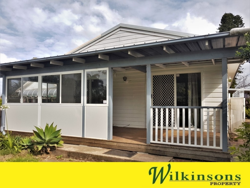 ON A LOVELY STREET IN SCHOFIELDS - 2 BEDROOM WITH HUGE YARD & GARAGE