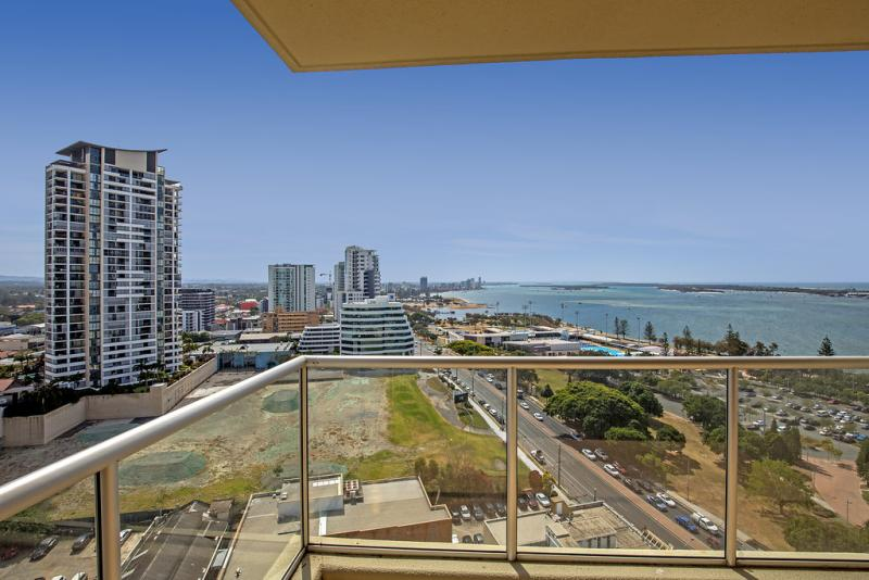 Relax with beautiful views of the Broadwater