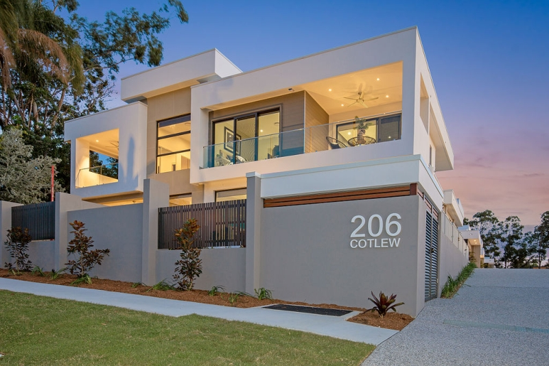 Architecturally Built Townhouses With Nothing Else Quite Like Them On The Gold Coast